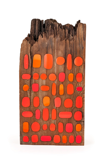 , 'Orange Totem,' 2016, THE MISSION