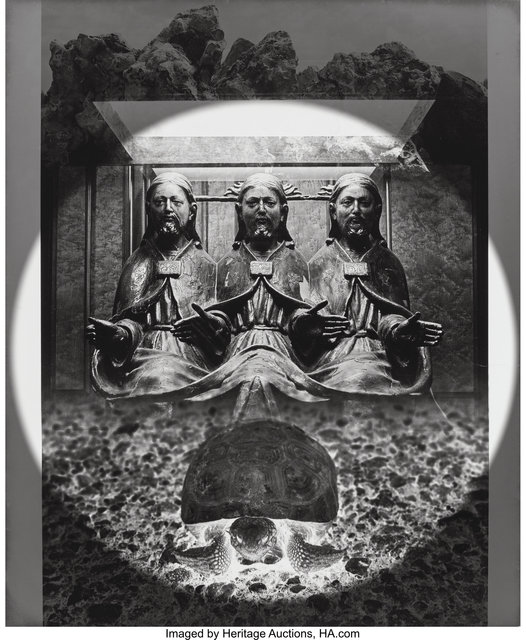 Jerry Uelsmann, 'Turtle Blessing', 1968, Heritage Auctions