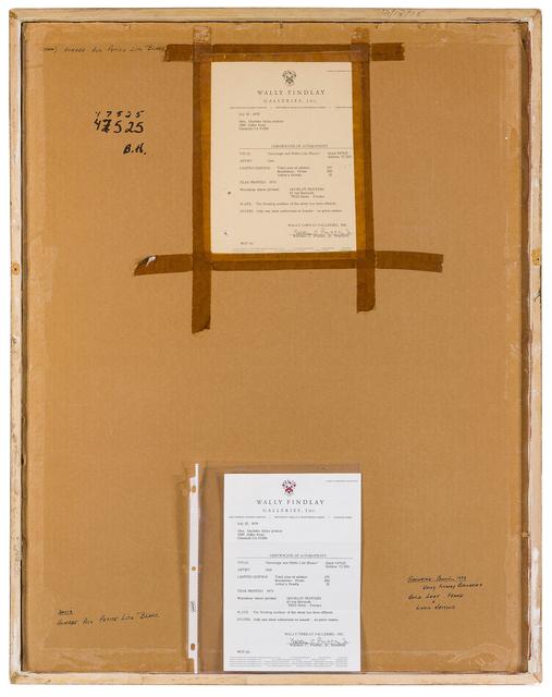 Salvador Dalí, 'Hommage aux Petits Lits Blancs', 1971, Print, Color lithograph on Arches, John Moran Auctioneers