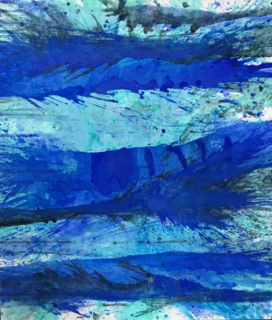 , 'Blue Splash,' , Fritz Gallery