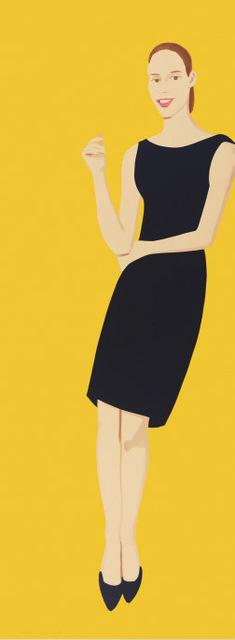 Alex Katz, 'Black Dress 5 (Ulla)', 2015, Print, Screenprint in colours, on wove paper, Artsy x Rago/Wright