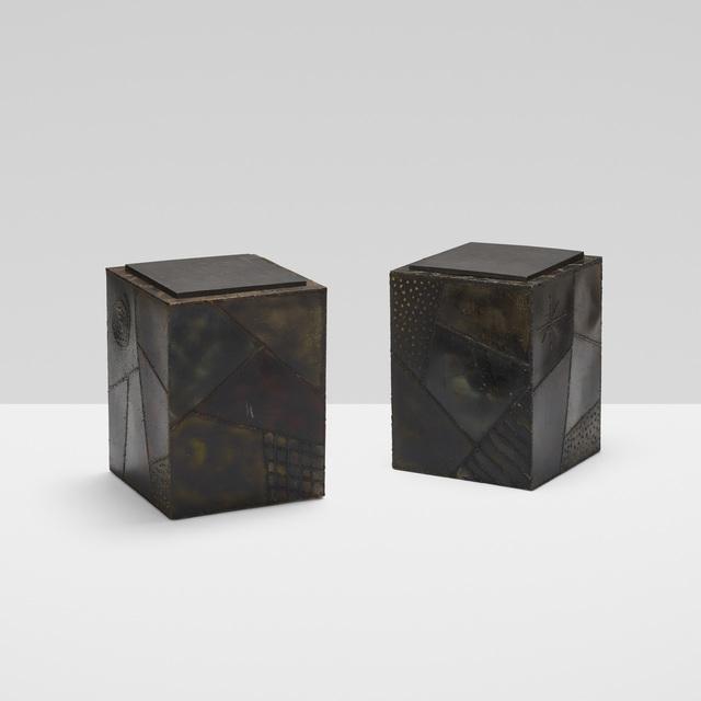 Paul Evans, 'Occasional Tables Model Pe 44, Pair', 1971, Wright