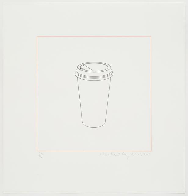 , 'Takeaway cup,' 2015, Alan Cristea Gallery