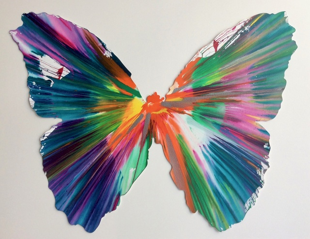 Damien Hirst, 'Butterfly (original spin painting)', 2009, Joseph Fine Art LONDON
