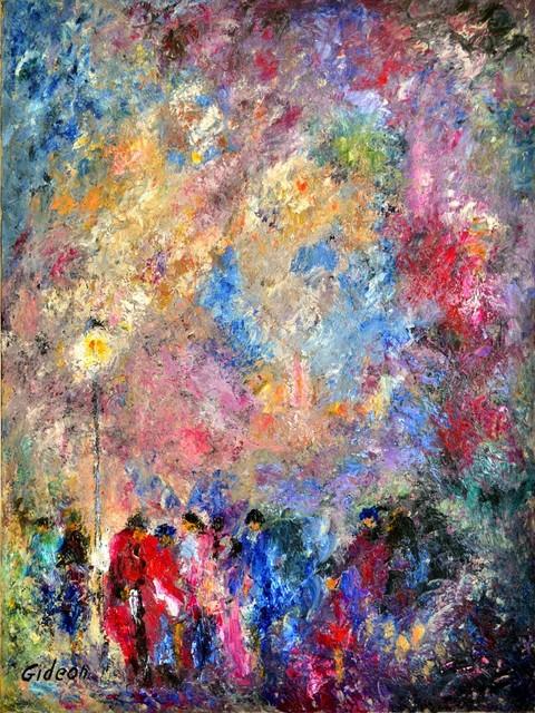 , 'PARIS AT NIGHT,' , Venvi Art Gallery