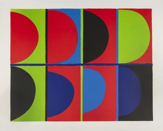 Sir Terry Frost, 'Red, Blue, Green (Kemp 65),' 1972, Forum Auctions: Editions and Works on Paper (March 2017)