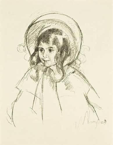 , 'Sara Wearing her Bonnet & Coat,' 1898, Galerie d'Orsay