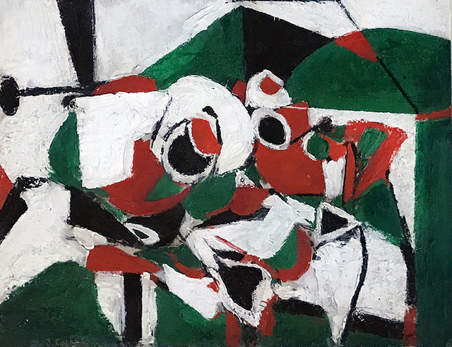 , '(Untitled) Still Life in Red and Green,' 1935, Mark Borghi Fine Art