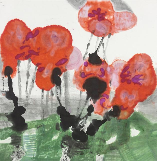 , 'Blooming Red Flowers,' 2017, Liang Gallery