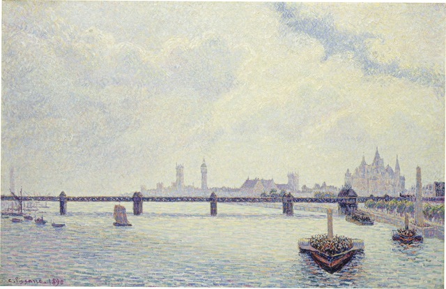 Camille Pissarro, 'Charing Cross Bridge, London', 1890, National Gallery of Art, Washington, D.C.