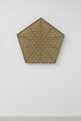 , 'Sonic Rotating Geometry Type G – Brass Plated #20,' 2014, dépendance