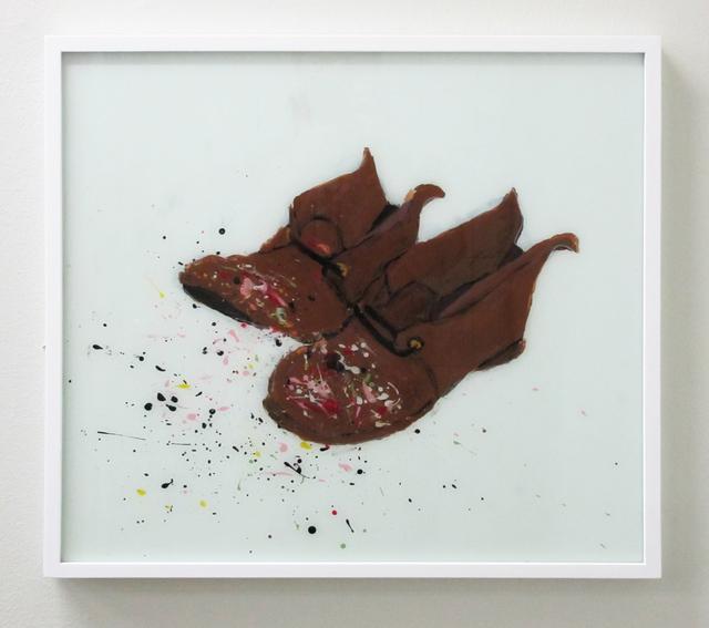 , 'Jackson Pollock Shoes,' 2016, V1 Gallery