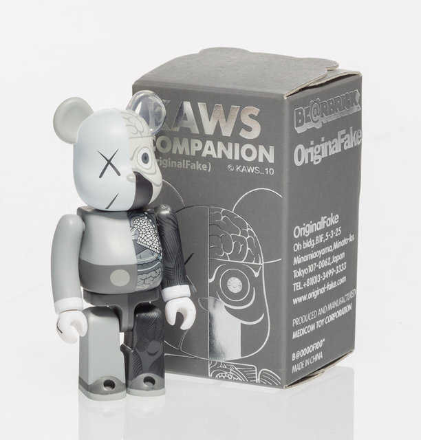 KAWS, 'Dissected Companion 100% (Grey)', 2008, Other, Painted cast vinyl, Heritage Auctions
