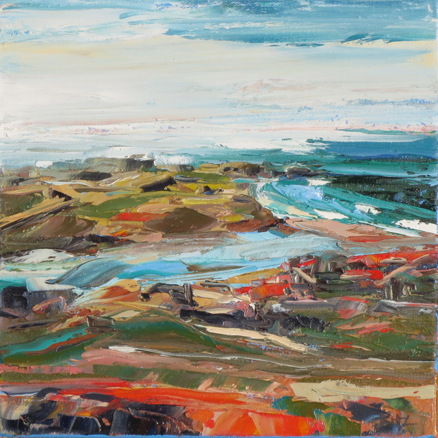 , 'Rodeo Beach Study,' 2016, Seager Gray Gallery