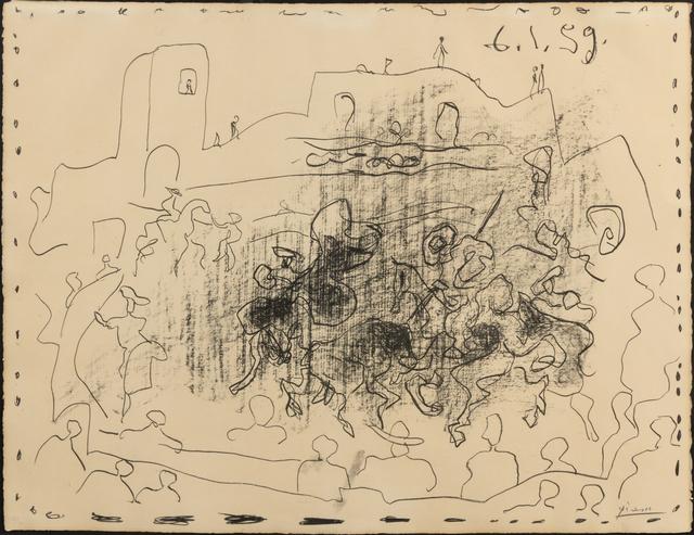 Pablo Picasso, 'La Pique', 1959, Hindman