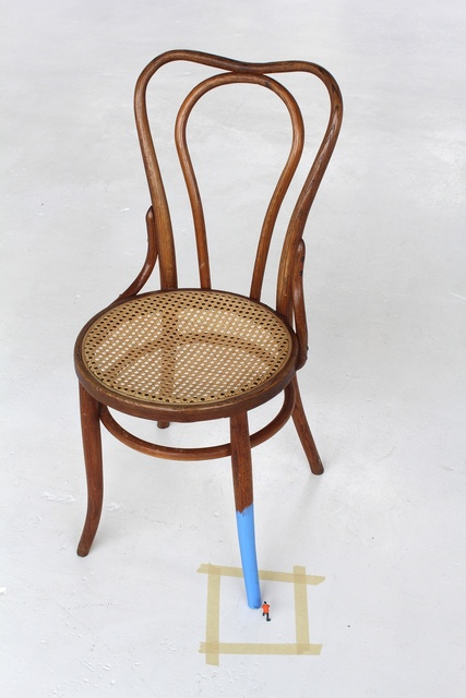 , 'Untitled (man painting chair II),' 2016, Hosfelt Gallery
