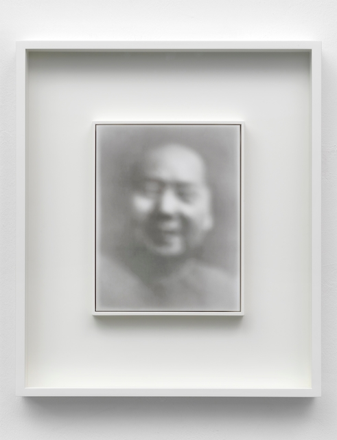 Gerhard Richter, 'Mao', 2019, Print, Archival Fine Art Print on Hahnemühle Photo Rag, behind acrylic glass, on aluminum plate, Sies + Höke