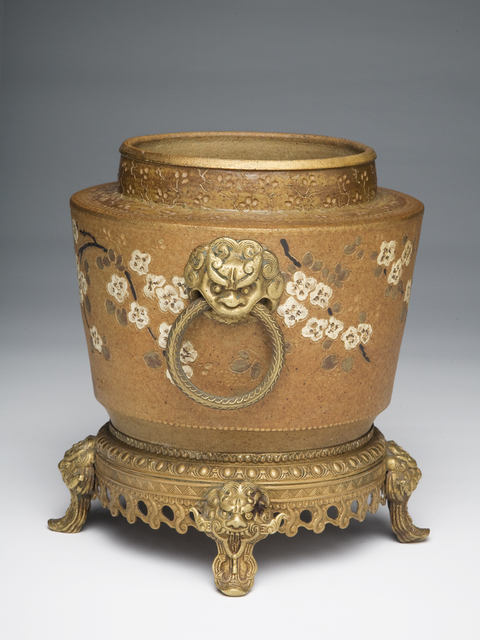 Ernest Chaplet, 'Cherry Blossoms', ca. 1895, Design/Decorative Art, Stoneware, Jason Jacques Gallery