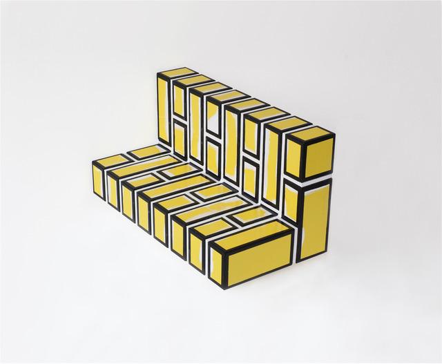 , 'Bad Brick Work no. 1,' 2014, Galerie VIVID