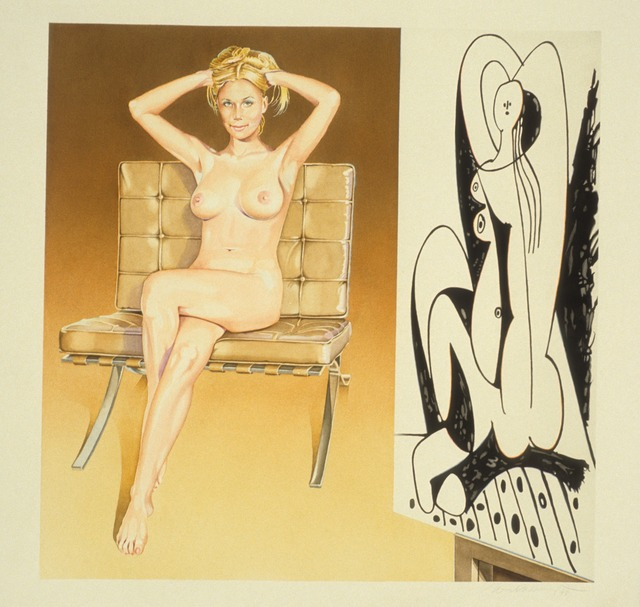 , 'The Drawing Lesson #9,' 1998, Louis K. Meisel Gallery