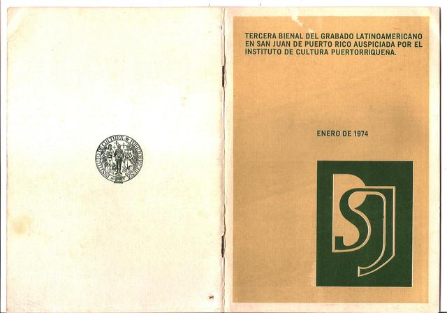 , 'Catologo de la Bienal de San Juan,' 1974, Baró Galeria