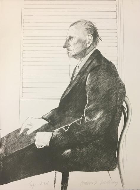 David Hockney, 'The Print Collector (Portrait of Felix Mann)', 1969, Wallector