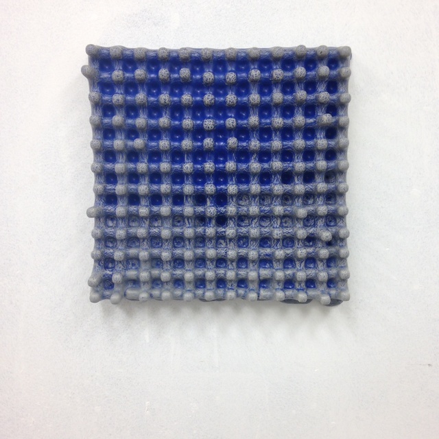 , 'Blue Wall Grid,' 2015, Eutectic Gallery