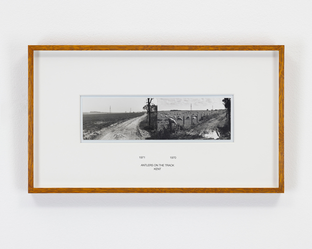 , 'Antlers On The Track, Kent, England, 1970 & 1971,' 1970-1971, Parafin