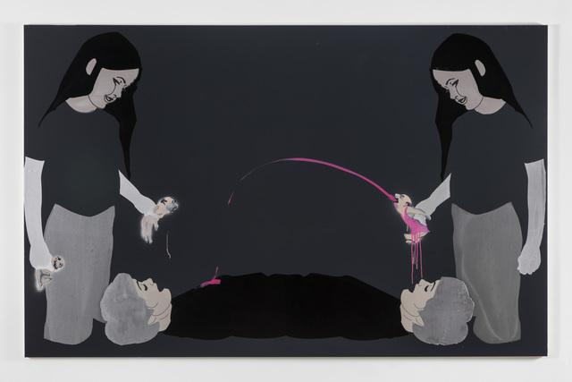 , 'Three tubes,' 2015, Pilar Corrias Gallery