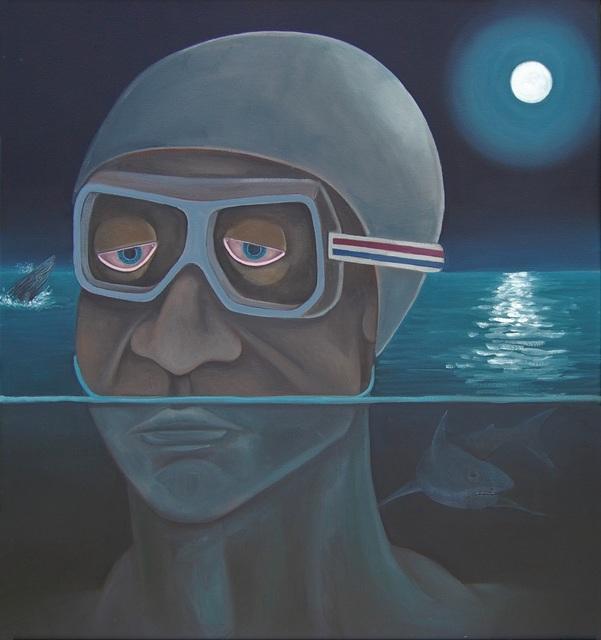 , 'Night Swimming,' 2019, 532 Gallery Thomas Jaeckel