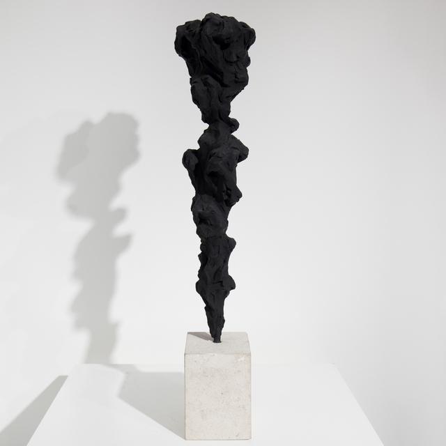 , 'Black Totem no. 5,' 2017-2018, Dellasposa