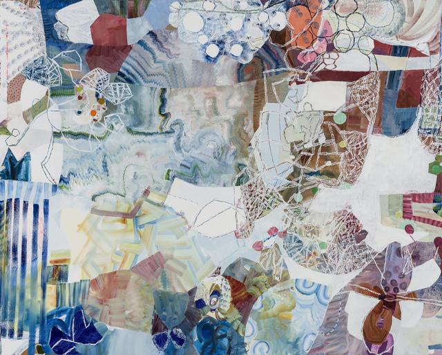 , 'Over Blue,' 2016, Kathryn Markel Fine Arts