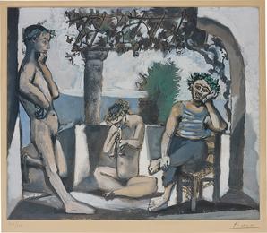 After Pablo Picasso, 'Bacchanale (faunes de l'été),' ca. 1955, Phillips: Evening and Day Editions