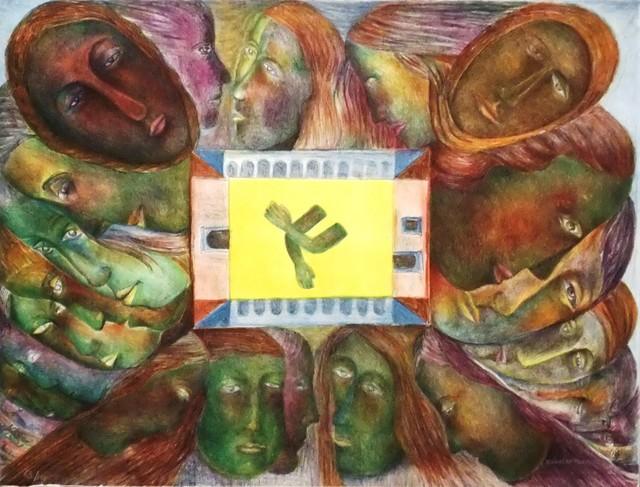 Rodolfo Morales, 'Rumores', 1994, La Mano Magica