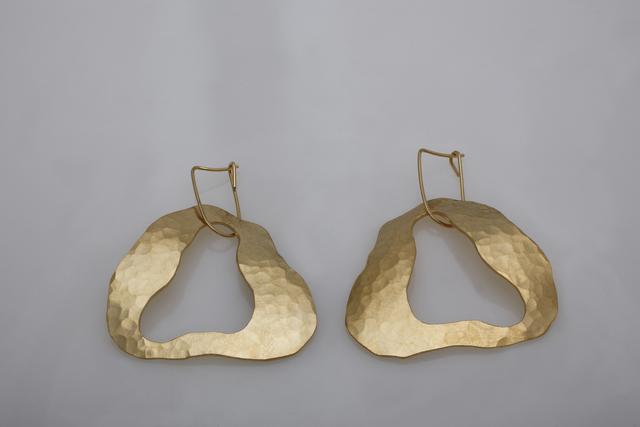 ", 'Gold-plated earrings by Jacques Jarrige ""Cloud"" ,' 2014, Valerie Goodman Gallery"