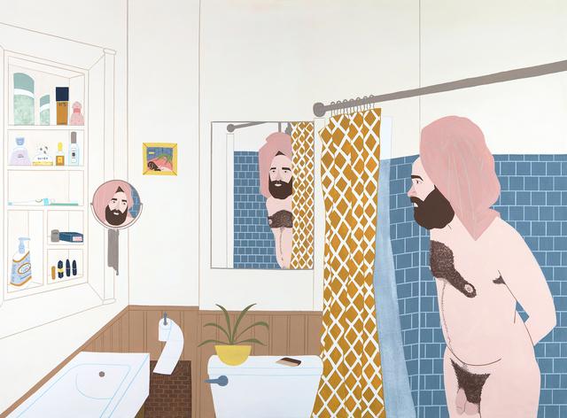 , 'Shower Talk,' 2018, ZINC contemporary