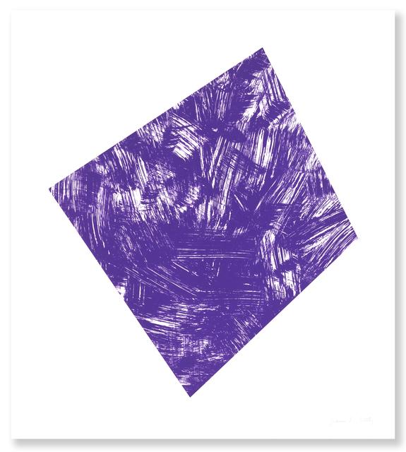 , 'Untitled (Purple State I),' 1988, Gemini G.E.L.