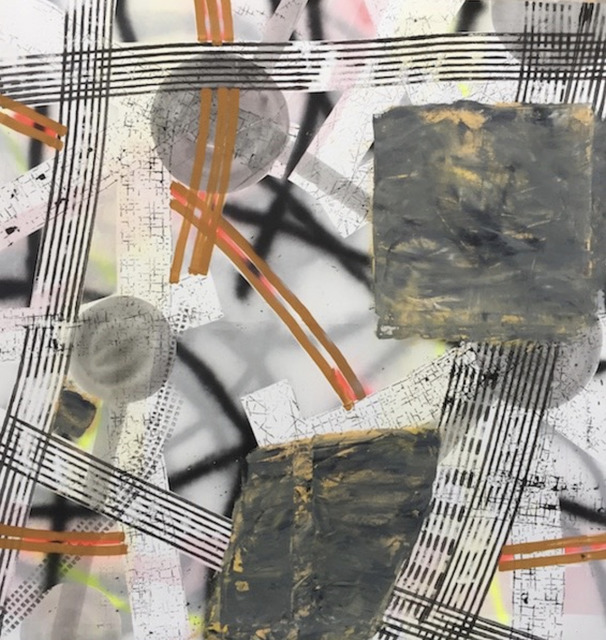 Vladimír Ossif, 'Untitled', 2018, Painting, Mixed media on canvas, 1969 Gallery