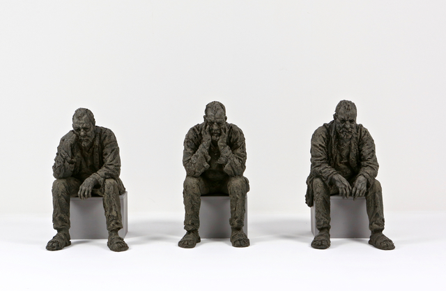 , 'Maquette for Seated Man 1, 2, 3,' 2016, Osborne Samuel