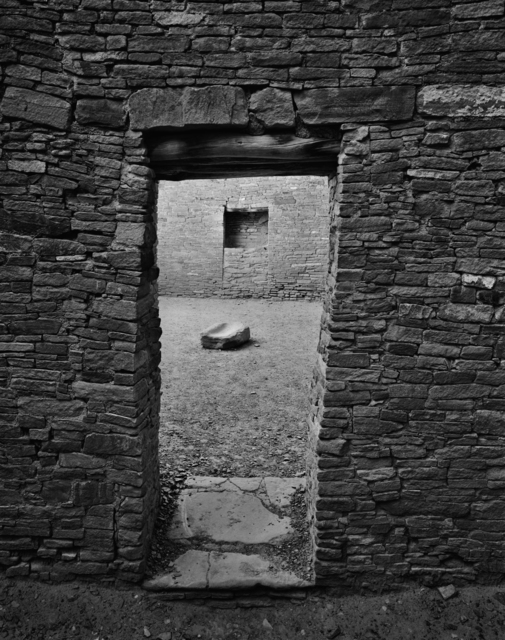 , 'Chaco Doorway and Grindstone,' 2017, Modernist Frontier
