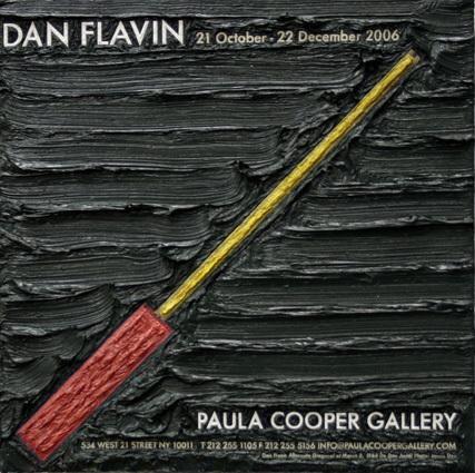 , 'Dan Flavin,' 2007, Mireille Mosler Ltd.