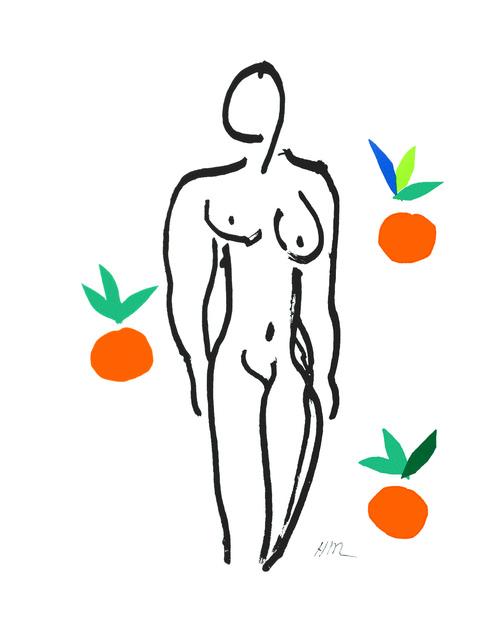 , 'Le Nu aux oranges (Nude with Oranges),' 2007, Art Lithographies