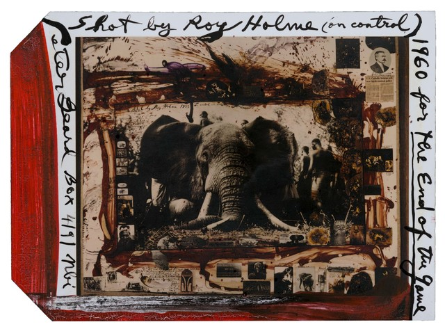 Peter Beard, '105 Iber Shot by Roy Holme (on control), for The End of Game', 1960, Repetto Gallery
