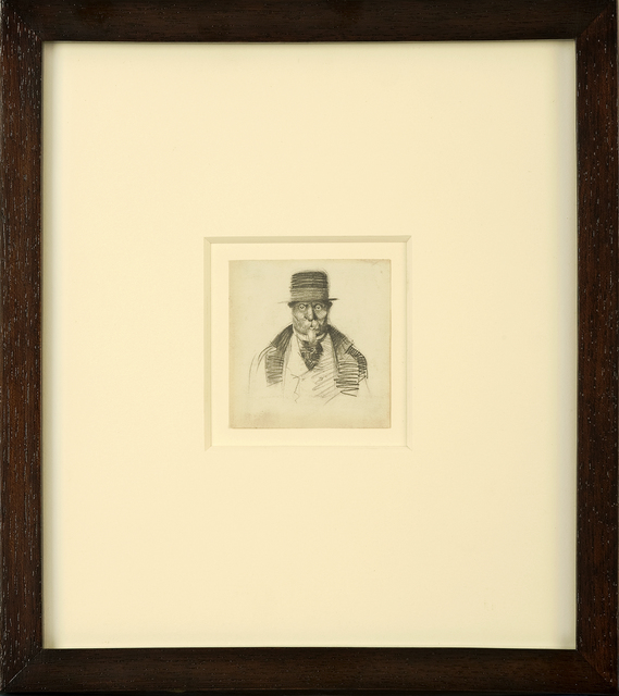 , 'Man with Goatee,' ca. 1900, Thurston Royce Gallery of Fine Art, LTD.
