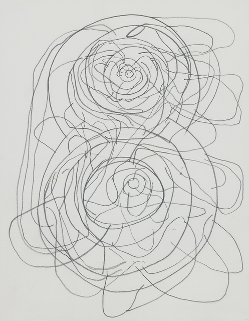 Atsuko Tanaka, ''96', 1996, Drawing, Collage or other Work on Paper, Pencil on paper, Whitestone Gallery