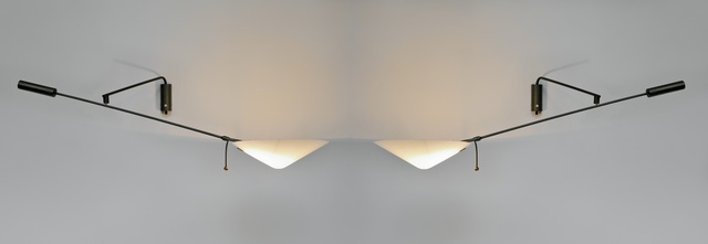 Robert Mathieu, 'Pair of sconces 242P', 1958-1959, Galerie Pascal Cuisinier
