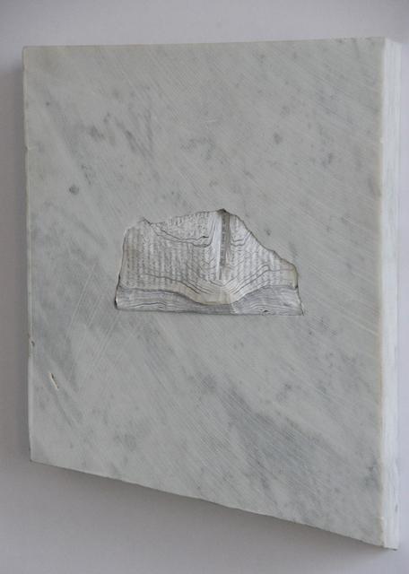 , 'battere piano (marble),' 2012, Galerie Geraldine Banier