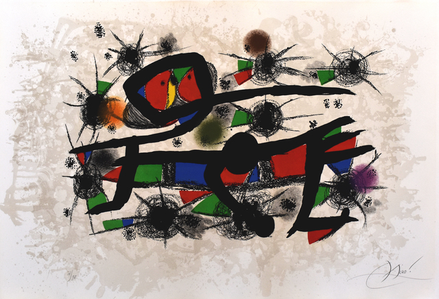 Joan Miró, 'Painting= Poetry | Peinture = Poesie', 1976, Gilden's Art Gallery