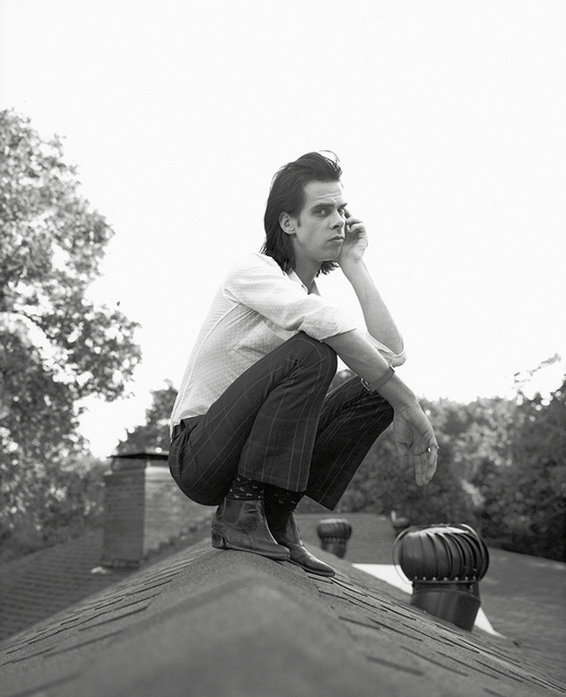 , 'Nick Cave on my roof,' 1994, PDNB Gallery