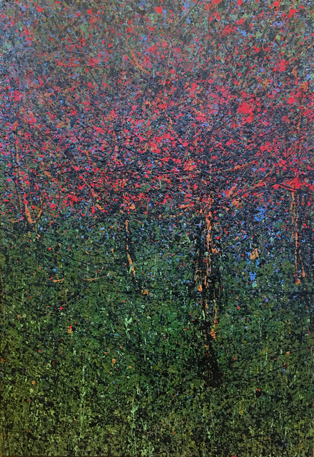 Diana Carey, 'Red Bud Trees', 2016, L'Attitude Gallery